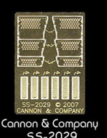Side Step Set for Athearn SD40T-2 (Photo-Etch) HO Scale Cannon & Company