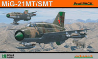 MiG-21 SMT Fighter (Profi-Pack Plastic Kit) 1/48 Eduard