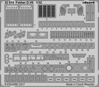 Fokker VII for Wingnut Wings 1/32 Eduard