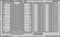Fw 190A-4 Landing Flaps for EDU 1/48 Eduard
