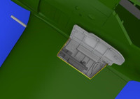 Fw 190A Wingroot Gun Bays for EDU (Photo-Etch & Resin) 1/48 Eduard