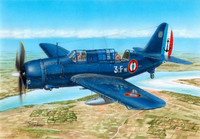 SB2C-5 Helldiver The Final Version Dive Bomber 1/72 Special Hobby