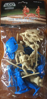 The War at Troy Set #3 Figure Playset: Heroes of the Iliad Greeks & Trojans  1/32 Playsets