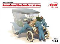 American Female Mechanics 1910s (3) 1/24 ICM Models
