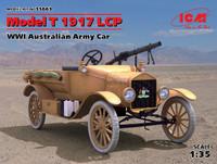 WWI Australian Model T 1917 LCP Army Car 1/35 ICM Models