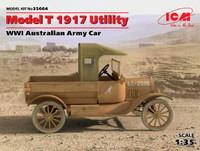 WWI Australian Model T 1917 Utility Army Car 1/35 ICM Models