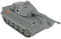 Tiger Tank (Grey) 54mm BMC Playsets