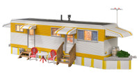 Built-N-Ready Sunny Days Trailer LED Lighted N Scale Woodland Scenics