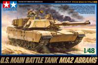PREORDER US M1A2 Abrams Main Battle Tank 1/48 Tamiya