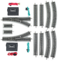 Nickel Silver E-Z Track Layout Expander Set N Scale Bachmann Trains
