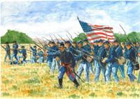 American Civil War Union Infantry (50) 1/72 Italeri