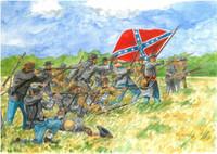 American Civil War Confederate Infantry (50) 1/72 Italeri