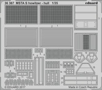 Msta-S Howitzer Hull for ZVE 1/35 Eduard