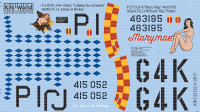 P-51D Lullaby for a Dream, Marymae for RVL 1/32 Warbird Decals