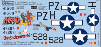 P-51D Diablo, The Enchantress for RVL 1/48 Warbird Decals