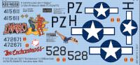 P-51D Diablo, The Enchantress for RVL 1/48 Warbird Decals