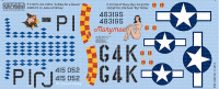 P-51D Lullaby for a Dream, Marymae for RVL 1/48 Warbird Decals