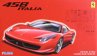 2009 Ferrari 458 Italia Sports Car 1/24 Fujimi