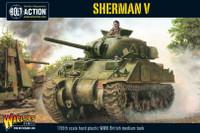 Sherman V British Medium Tank 28mm Warlord Games