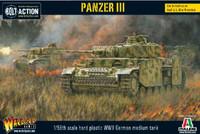 Panzer III German Medium Tank 28mm Warlord Games