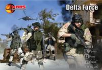 Delta Force Soldiers (15) 1/32 Mars Figures