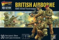 Bolt Action: WWII British Airborne Allied Paratroopers (30) (Plastic) 28mm Warlord Games