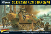 Bolt Action: WWII SdKfz 251/1 Ausf D Hanomag German Halftrack (Plastic) 28mm Warlord Games