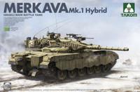 Israeli Merkava Mk I Hybird Main Battle Tank 1/35 Takom