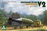 WWII German V2 Vidalwagen Hanomag SS100 Rocket Transporter 1/35 Takom