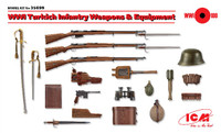 WWI Turkish Infantry Weapons & Equipment 1/35 ICM Models