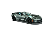 2017 Corvette Grand Sport Coupe (Met. Grey) 1/24 Maisto