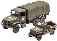 US Army M34 Tactical Truck & Off-Road Jeep 1/35 Revell Germany