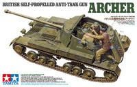 British Archer Self-Propelled Gun 1/35 Tamiya