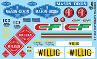 Yesterday's Trucking 1/24-1/25 Gofer Racing Decals