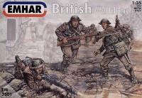 WWI British Infantry (12) 1/35 Emhar