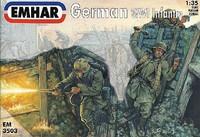 WWI German Infantry (12) 1/35 Emhar