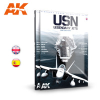 USN Legendary Jets Aircraft Scale Modeling Guide Book AK Interactive