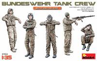 Bundeswehr German Tank Crew (5) 1/35 Miniart