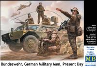 Bundeswehr German Military Men Present Day (5) 1/35 Masterbox
