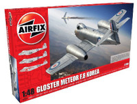 Gloster Meteor F8 Korean War Fighter 1/48 Airfix