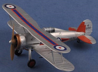 Gloster Gladiator Mk I 72nd Sq. RAF Yorkshire Jun. 1936 (Built-Up Plastic) 1/48 Model Rectifier