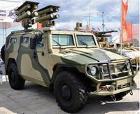 Russian GAZ233014 Armored Vehicle w/AT Missile System Kornet-D 1/35 Zvezda