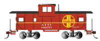 36' Wide Vision Caboose Santa Fe #999771 HO Scale Bachmann Trains