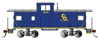 36' Wide Vision Caboose Chesapeake & Ohio #3260 HO Scale Bachmann Trains