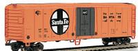 50' Steel Reefer Santa Fe #56252 HO Scale Bachmann Trains