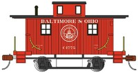 Bobber Caboose Baltimore & Ohio #C1775 HO Scale Bachmann Trains