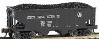USRA 55-Ton 2-Bay Outside Braced Hopper Baltimore & Ohio #723046 N Scale Bachmann Trains