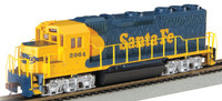 EMD GP40 Diesel Locomotive Santa Fe #2964 HO Scale Bachmann Trains