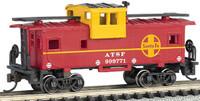 36' Wide Vision Caboose Santa Fe #999771 N Scale Bachmann Trains