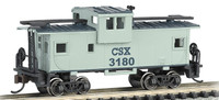 36' Wide Vision Caboose CSX #3180 N Scale Bachmann Trains